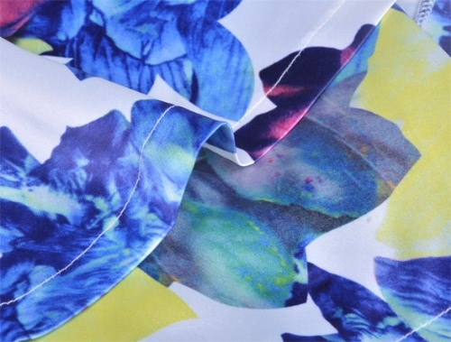 Sexy Women Floral Print Playsuit Summer Ladies Jumpsuit