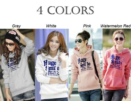 New Korean Thick Hooded Sweater Pullover Hoodie Jacket Women's Spring And Autumn