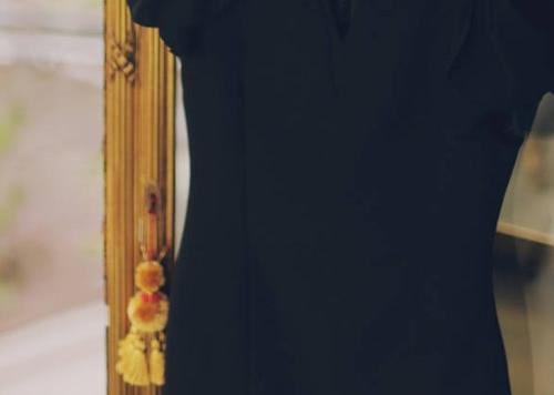 High Quality Summer New Fashion Chiffon Dress Black Elegant Slim V-Neck Mini Elastic Women Work Dresses