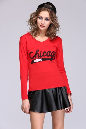 New Autumn And Winter NEW HOT Fashion Trendy Women Ladies Clothes Tops Tees T-shirt