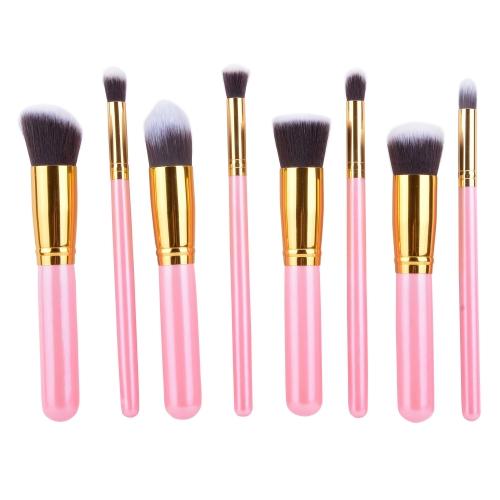 NEW 8 PCS Professional Makeup Set Pro Kits Brushes Makeup Cosmetics Brush Tool
