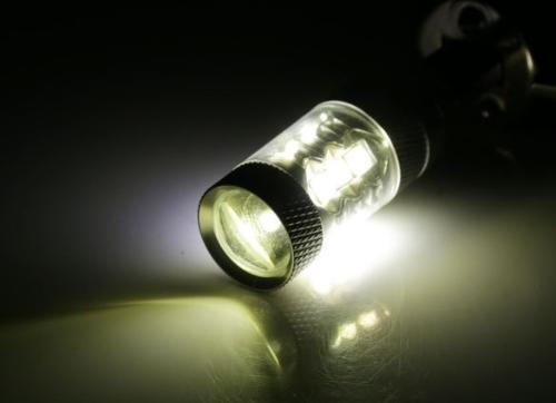 New 80W LED Fog-Proof Light Bright White Fog Tail Turn Head Car Light Lamp