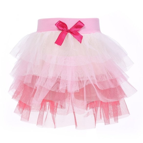 Fashion Baby Girls Ball Gown Mini Skirt Colorful Mesh Splice Tutu Skirt