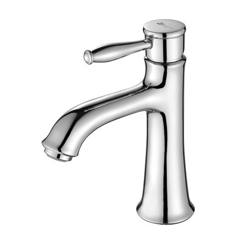 Mitigeur de lavabo anti-colmatage et hydroéconome