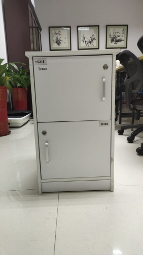 Festnight Locker Cabinet with 3 Compartments 15