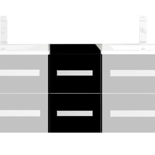 Meuble de rangement Noir L300*P466*H460 mm