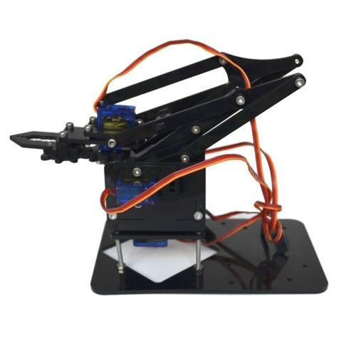 Ручная роботизированная ручная роботизированная рукоятка с акриловым крепежом + сервопривод