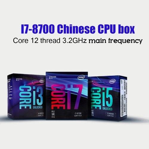 Intel - Core i7-8700 Coffee Lake Six-Core 3.2 GHz Desktop Processor