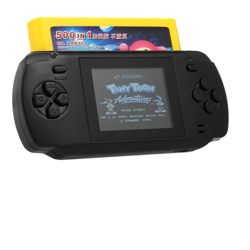 S600 Portable Handheld Game Console Built-in 68 Classic Games