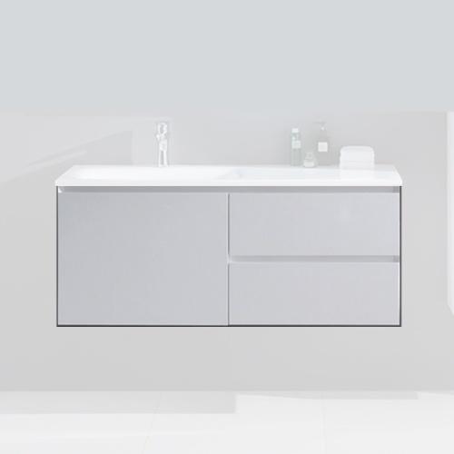 Meuble sous vasque blanc 1202 x 540 x 480 mm