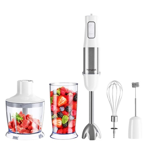 Homgeek 5-in-1 Hand Blender Set