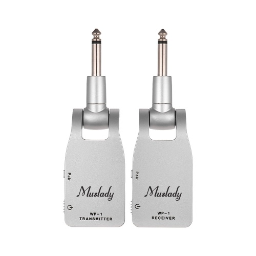 Muslady 2.4G Wireless Guitar System Transmitter & Receiver