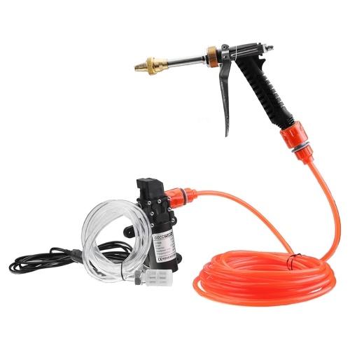 kit de pompe eau pour laveuse de voiture lectrique 12v 72w haute pression j1116 1. Black Bedroom Furniture Sets. Home Design Ideas