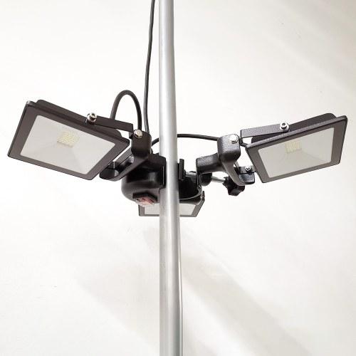 3 lampes LED pour tente pliante et tente de réception