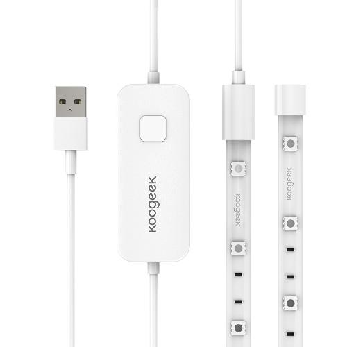 Koogeek 6.6ft / 2m Flexible 60 LED Wi-Fi Enabled Smart Light Strip współpracuje z Apple HomeKit