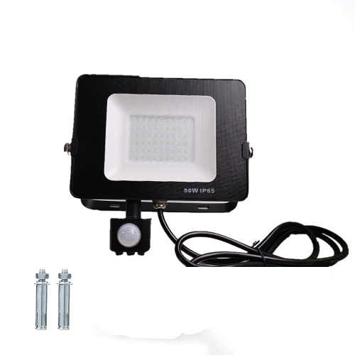 Flood Lights Outdoor Security Lights with PIR Motion Sensor 60 LED 50W 5000LM IP65 Waterproof LED Wall Lights for Garden Garage Backyard Doorways Tomshine