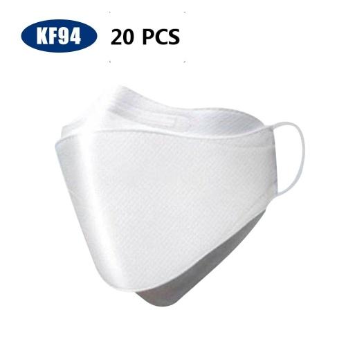 20PCS KF94 Face Mask Triple Filter Mask