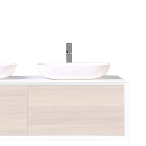 Vasque céramique seule - Blanc