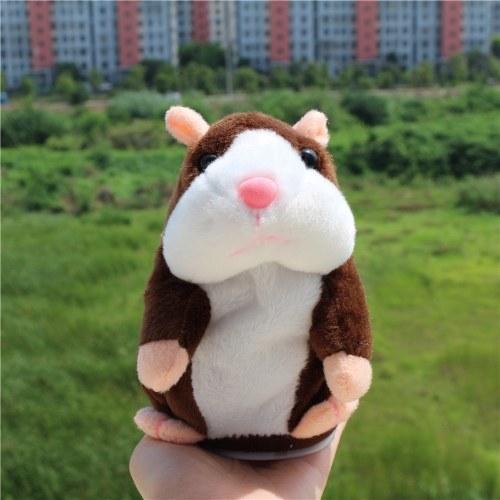 Elektrischer intelligenter kleiner sprechender Hamster-Rekord-Wiederholung angefülltes Plüsch-Tier scherzt Puppe