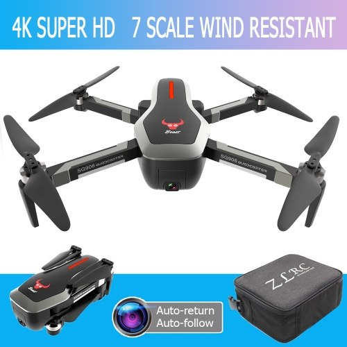 ZLRC Beast SG906 5G Wifi GPS FPV Drone with 4K Camera(3 Batteries and Handbag)