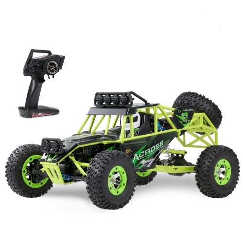 Original Wltoys 12428 1/12 2.4G 4WD 50km/h High Speed RC Car Off Road Car RC Rock Crawler Cross-country RC Truck