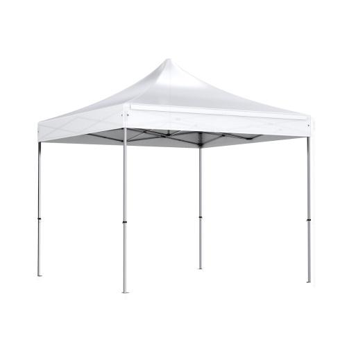 Tente pliante 3x3m polyester 300g/m² pelliculé PVC tube acier 32mm