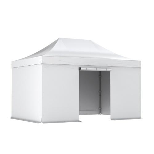 Barnum pliant PRO 3x4.5 Alu 50 toit PVC 520g/m² + murs PVC 380g/m²