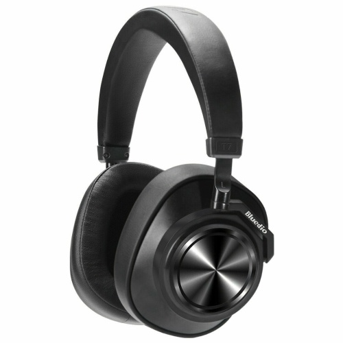Bluedio T7 Plus Bluetooth Headphones ANC Active Noise Cancelling Wireless Headset for Phones Support Memory Card Step Counting Automatically Pause