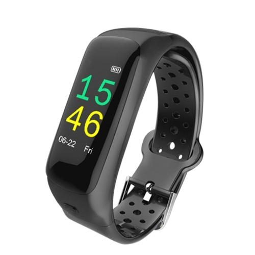 T88 Smart Bracelet BT4.2 Earphone 0.96-Inch TFT Screen Smart Watch