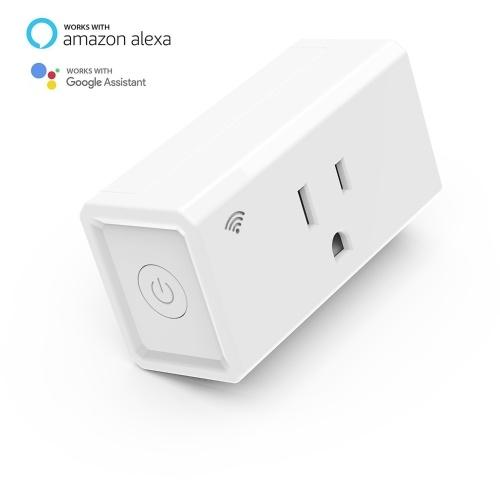 WIFI Smart Socket Smart Switch Socket Amazon Alexa Voice Control US Smart Socket белый