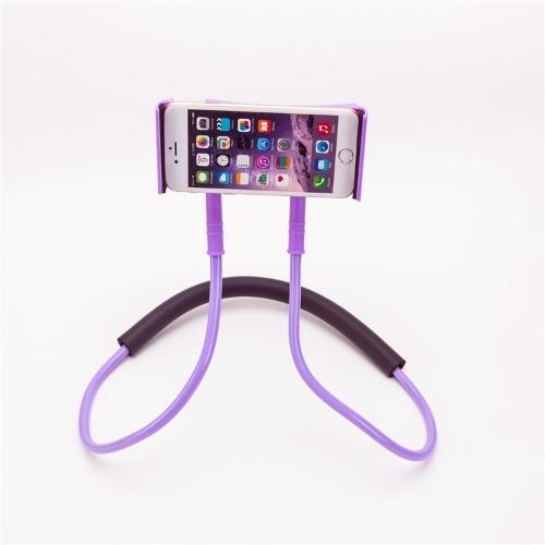 Neue hängende Hals faul Handyhalterung Multifunktions-Universal-faul hängende Hals hängende Handy-Tablet-Halterung Hängender Hals blau