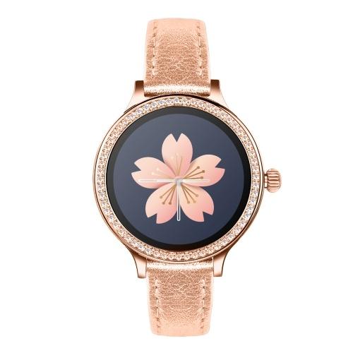 New ladies M8 watch heart rate sphygmomanometer menstrual period reminds fashion healthy sports smart bracelet Black