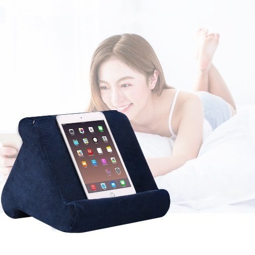 Cross-border new headrest Pillow pad pillow mobile phone holder multi-angle reading pillow Amazon ebay Wine