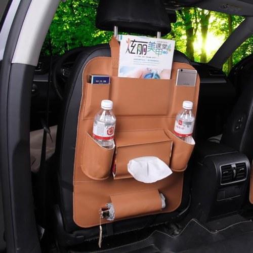 Car Seat Back Storage Bag Hanging Bag Child Multi-function Storage Box