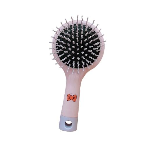 Spazzola per capelli pettine con specchio