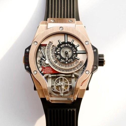 Jason Statham Lo stesso orologio quadrato maschile Richard Mille Warcraft non meccanico orologio trizio grande quadrante nero da uomo