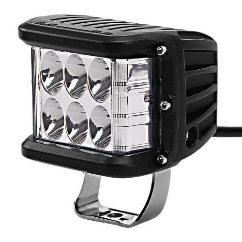 Светодиодный трехсторонний световой рабочий свет 45 Вт Боковой световой дневной ходовой свет вспыхивает Мигающий прожектор