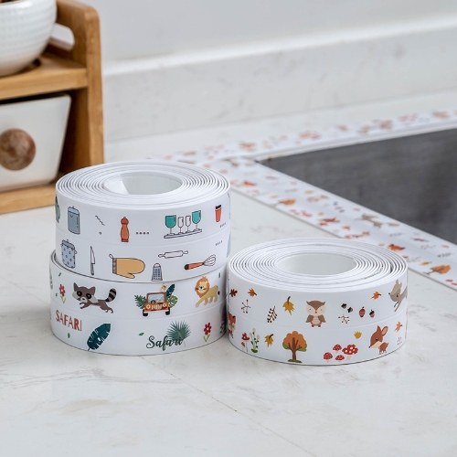 Kitchen and bathroom waterproof tape