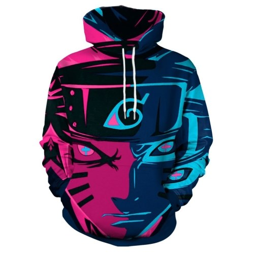 Fashion Loose 3d Digital Printing Men's Hoodie