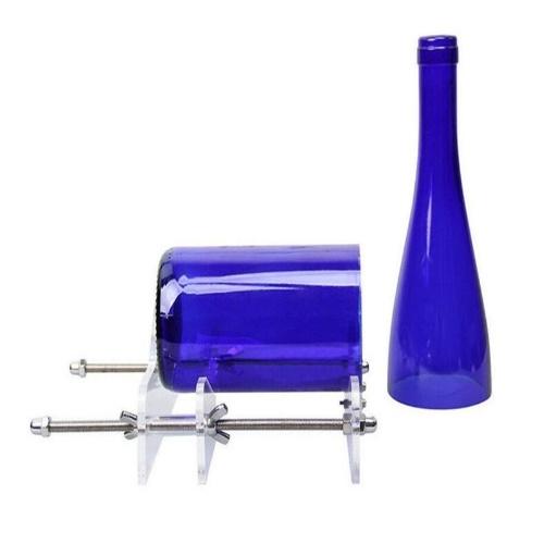 Glass bottle cutting tool wine bottle cutter DIY cutting wine bottle tool cutter glass knife red blue black transparent