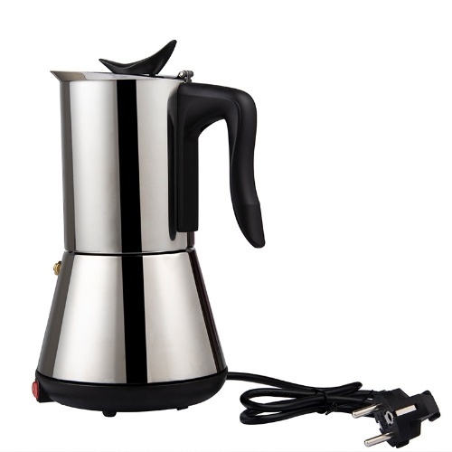 Electric Espresso/Mocha Coffee Maker Stainless Steel Coffee Pot