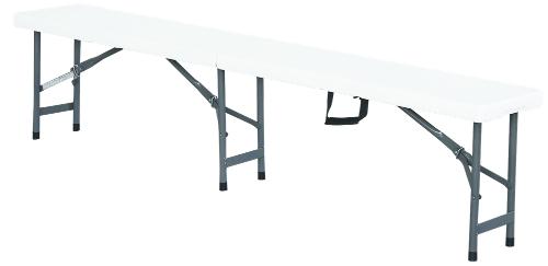 Premium Folding Outdoor Garden Bench 183cm for Camping Picnic Flexible Match Portable Comfortable Stable Durable