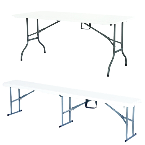 Image For 183cm Moistureproof Anti-UV Folding Table