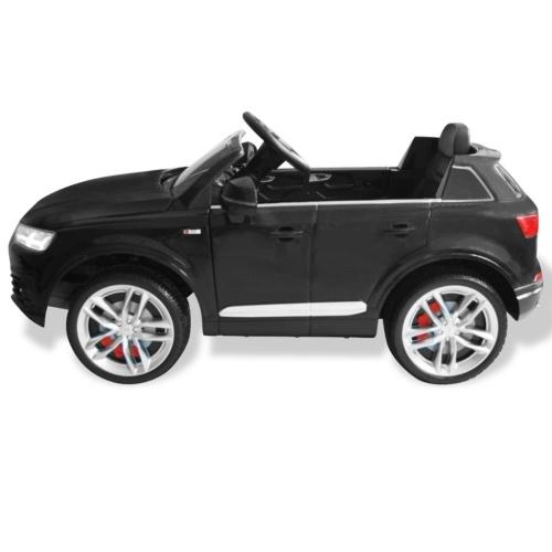 Auto elettrica da bambino Audi Q7 Nero 6 V