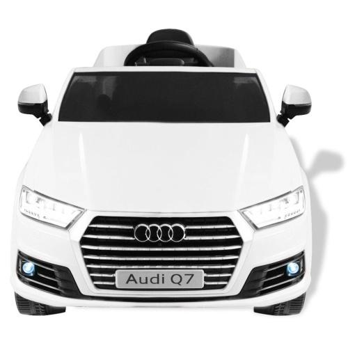 Auto elettrica da bambino Audi Q7 White 6 V