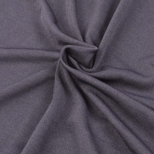 Sofahusse copridivano elasticizzato copertura antracite jersey di poliestere