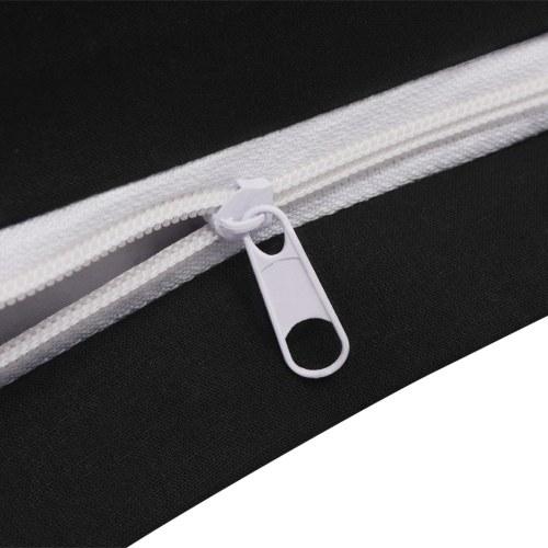 3 pz. Bedding Set Cotone antracite 200x200 / 80x80 cm