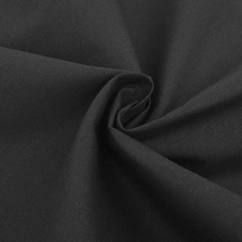 3 pz. Bedding Set Cotone antracite 200x200 / 60x70 cm