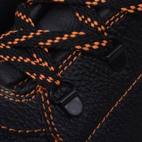 scarpe di sicurezza  lavoro scarpe Nero gr. 41 pelle