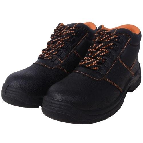 scarpe di sicurezza  lavoro scarpe in pelle nera Gr. 41